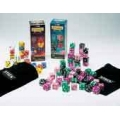 Stack Giant Deluxe (56 1 inch dice in purple/black/pink/green)